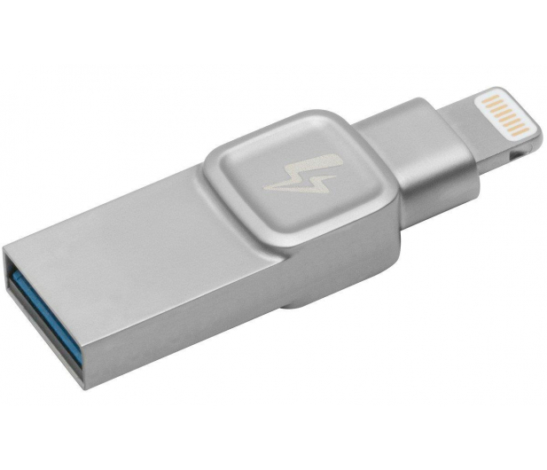 Kingston 128GB DataTraveler Bolt™ Duo (USB 3.1+Lightning)  - 428979 - zdjęcie