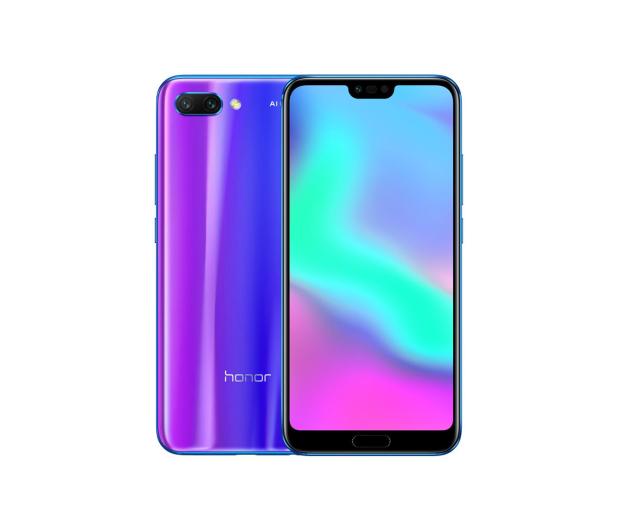 Honor 10 LTE Dual SIM 128 GB niebieski + Smartband - 436645 - zdjęcie 2