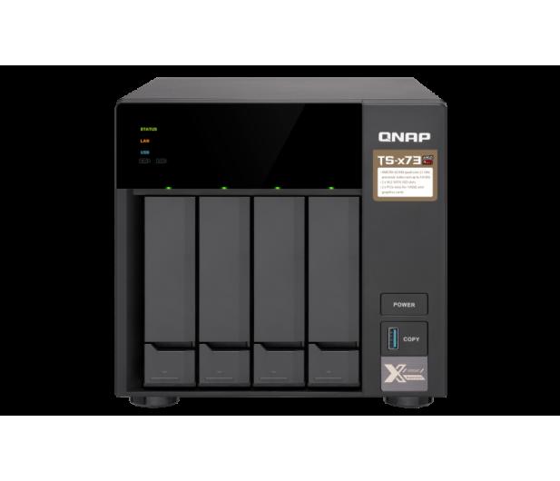 QNAP TS-473-4G (4xHDD, 4x2.1-3.4GHz, 4GB,4xUSB,4xLAN)  - 434194 - zdjęcie 2