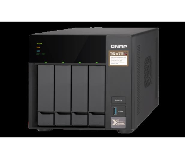 QNAP TS-473-4G (4xHDD, 4x2.1-3.4GHz, 4GB,4xUSB,4xLAN)  - 434194 - zdjęcie 3