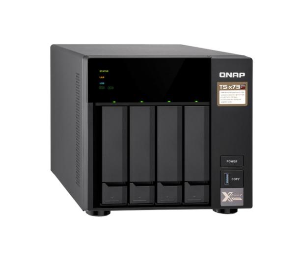 QNAP TS-473-4G (4xHDD, 4x2.1-3.4GHz, 4GB,4xUSB,4xLAN)  - 434194 - zdjęcie
