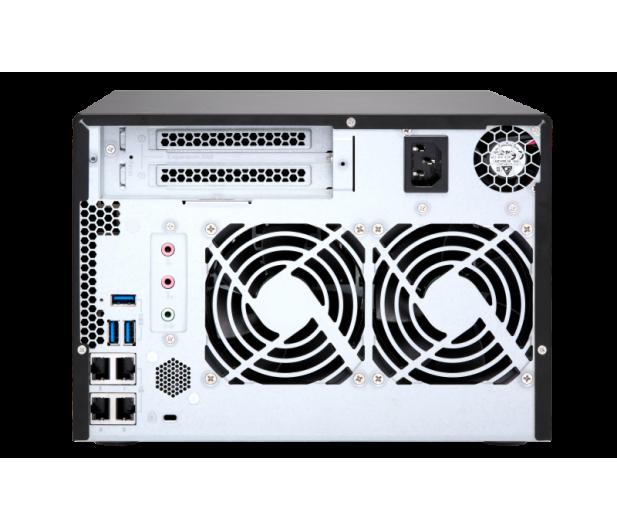 QNAP TS-673-8G (6xHDD, 4x2.1-3.4GHz,8GB,4xUSB,4xLAN)  - 434210 - zdjęcie 5