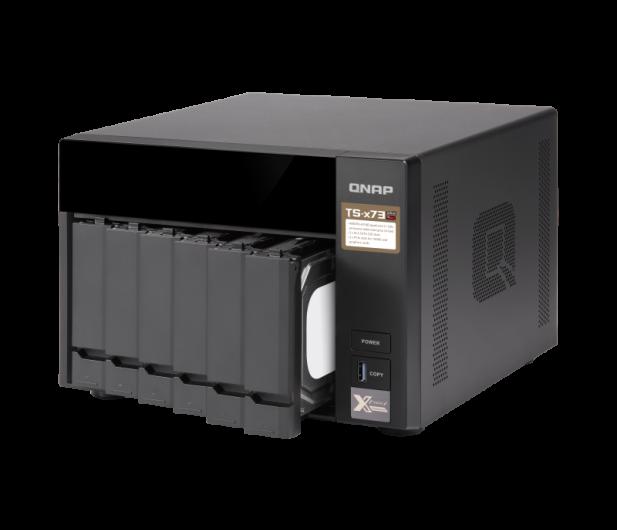 QNAP TS-673-8G (6xHDD, 4x2.1-3.4GHz,8GB,4xUSB,4xLAN)  - 434210 - zdjęcie 4