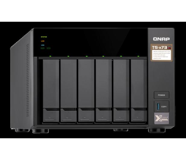 QNAP TS-673-8G (6xHDD, 4x2.1-3.4GHz,8GB,4xUSB,4xLAN)  - 434210 - zdjęcie 8