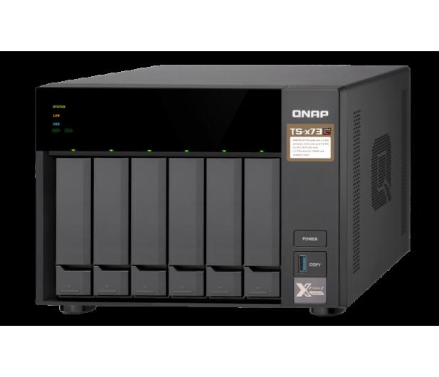 QNAP TS-673-8G (6xHDD, 4x2.1-3.4GHz,8GB,4xUSB,4xLAN)  - 434210 - zdjęcie 3