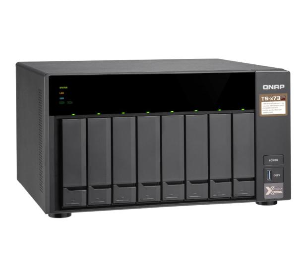 QNAP TS-873-4G (8xHDD, 4x2.1-3.4GHz, 4GB,4xUSB,4xLAN)  - 434212 - zdjęcie