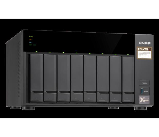 QNAP TS-873-4G (8xHDD, 4x2.1-3.4GHz, 4GB,4xUSB,4xLAN)  - 434212 - zdjęcie 8