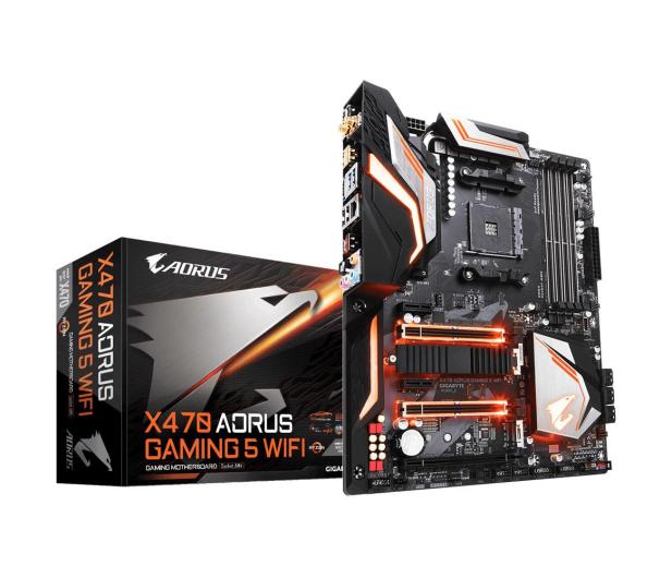 Gigabyte X470 AORUS GAMING 5 WIFI - 433937 - zdjęcie