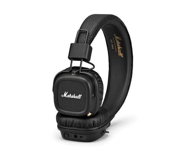 Marshall Major II Bluetooth Czarne - 434477 - zdjęcie