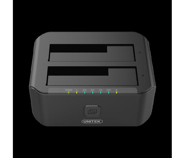 Unitek Stacja dokująca 2 x HDD USB 3.0 z klonowaniem - 434810 - zdjęcie 3