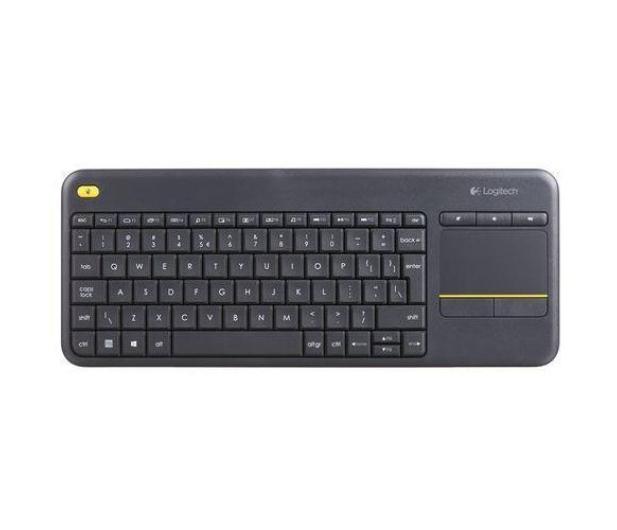 Logitech  Wireless Touch K400 Plus czarna  - 336107 - zdjęcie