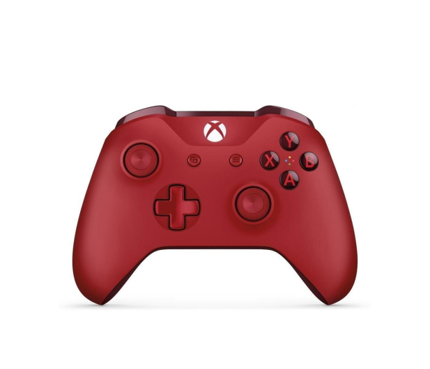 Microsoft Xbox One S Wireless Controller - Red - 390929 - zdjęcie