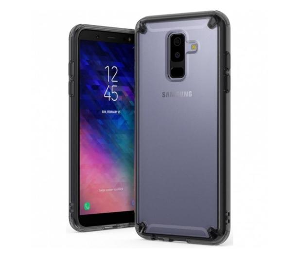 Ringke Fusion do Galaxy A6+ 2018 Smoke Black - 435564 - zdjęcie
