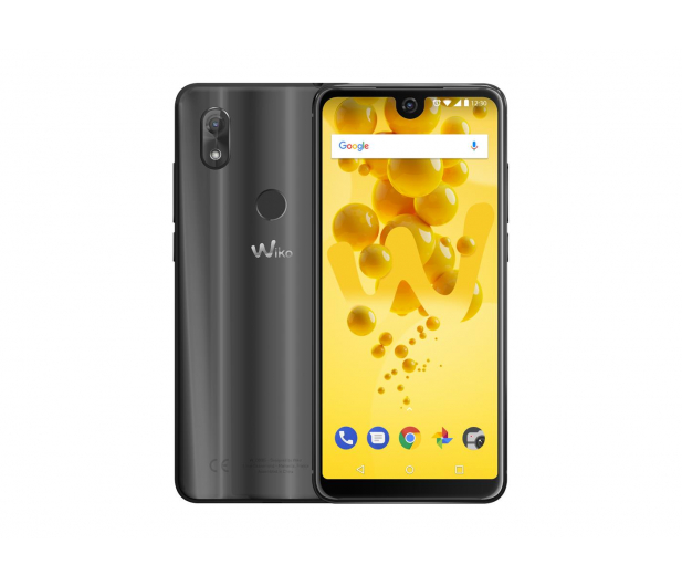 WIKO View 2 3/32 Dual SIM czarny - 435000 - zdjęcie