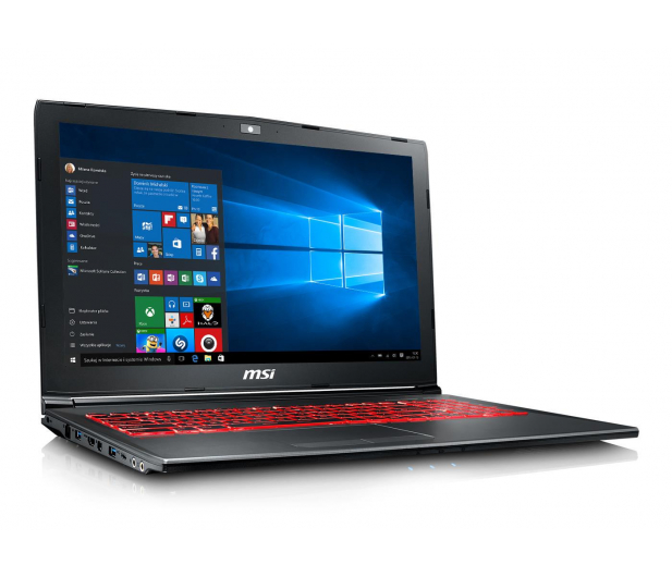MSI GV62 i5-8300H/16GB/120+1TB/Win10X GTX1050Ti  - 449375 - zdjęcie 3