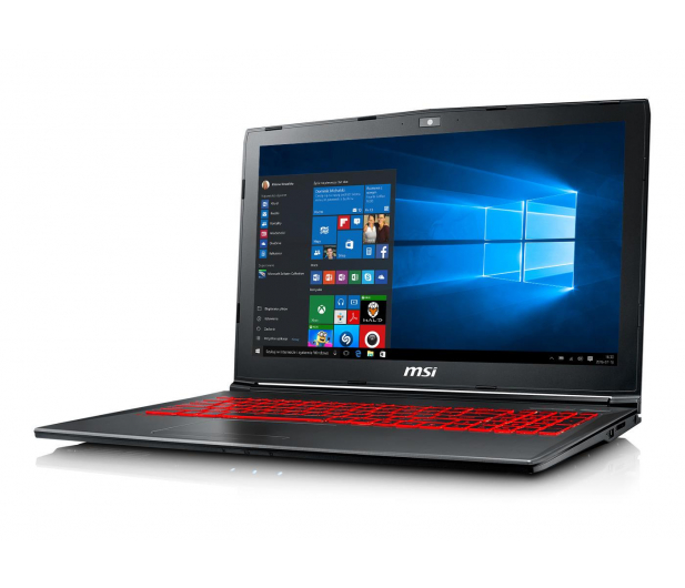 MSI GV62 i5-8300H/16GB/120+1TB/Win10X GTX1050Ti  - 449375 - zdjęcie 2