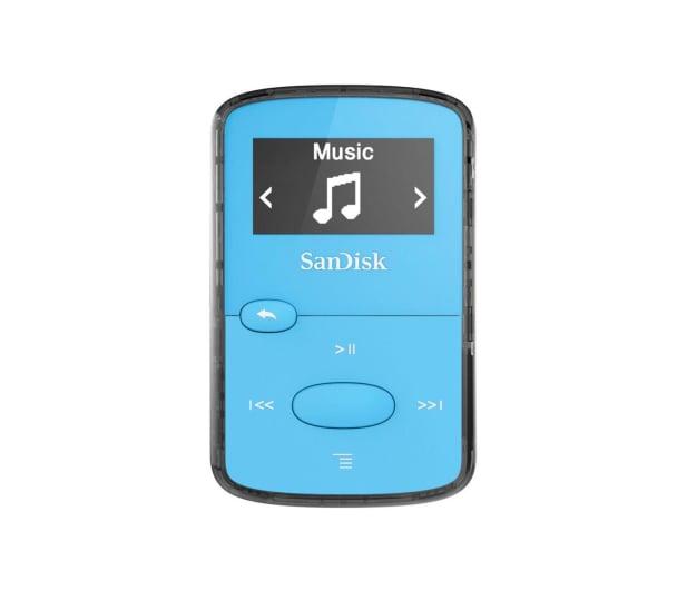 SanDisk Clip Jam 8GB niebieski - 251395 - zdjęcie