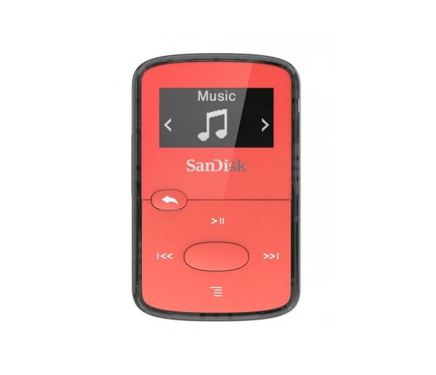 SanDisk Clip Jam 8GB czerwony - 431814 - zdjęcie
