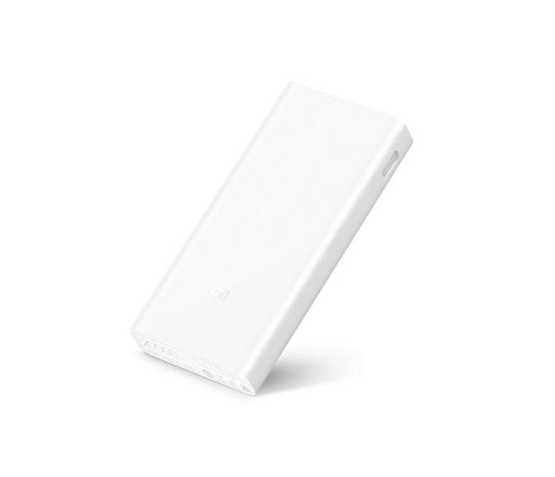 Xiaomi Power Bank 2C 20000 mAh 2.4A, QC 3.0 (biały) - 399401 - zdjęcie