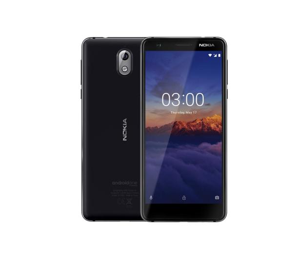 Nokia 3.1 Dual SIM czarny - 436678 - zdjęcie