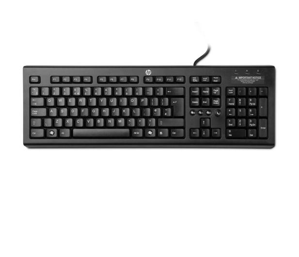 HP Classic Wired Keyboard - 432406 - zdjęcie