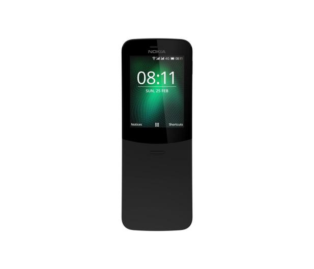 Nokia 8110 Dual SIM czarny - 436690 - zdjęcie 4