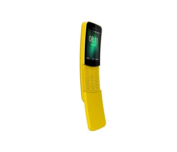 Nokia 8110 Dual SIM żółty - 436692 - zdjęcie