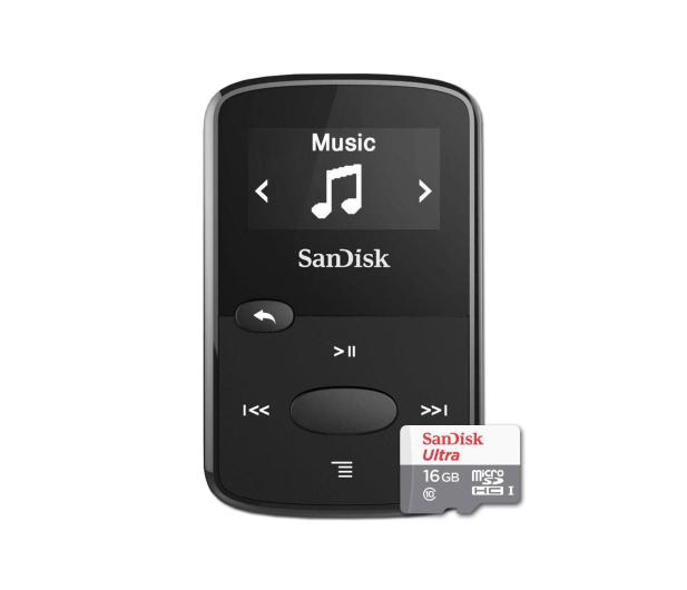 SanDisk Clip Jam 8GB czarny + 16GB microSDHC Ultra - 435011 - zdjęcie