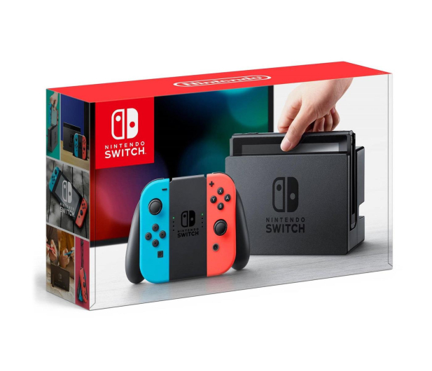 Nintendo Switch Red-Blue + LEGO Ninjago Movie Videogame - 469876 - zdjęcie 2