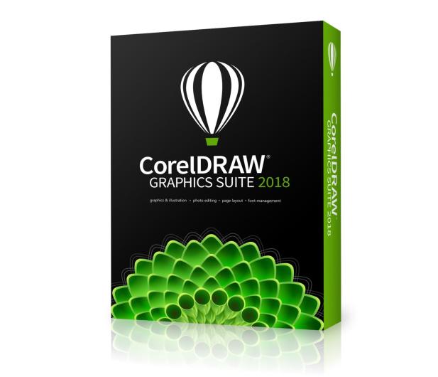 Corel CorelDRAW Graphics Suite 2018 PL Box (Upgrade)  - 431930 - zdjęcie 2