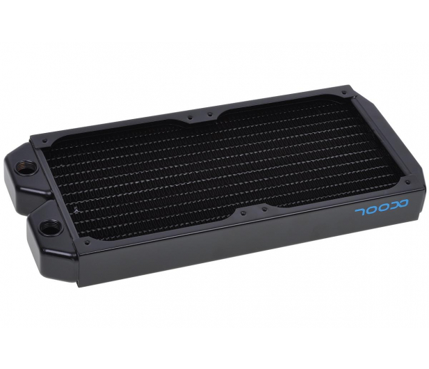 Alphacool Eissturm Gaming Copper 30 2x120mm - complete kit - 422854 - zdjęcie 2