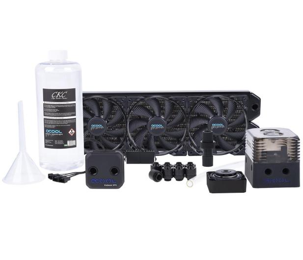 Alphacool Eissturm Gaming Copper 30 3x120mm - complete kit - 422855 - zdjęcie