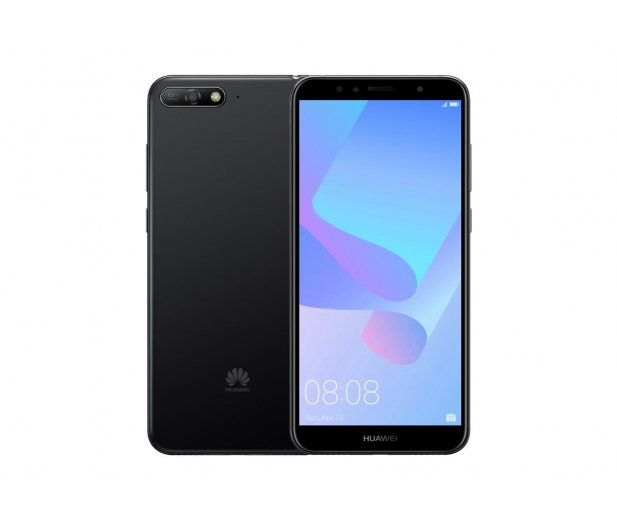 Huawei Y6 2018 Czarny - 421076 - zdjęcie 1