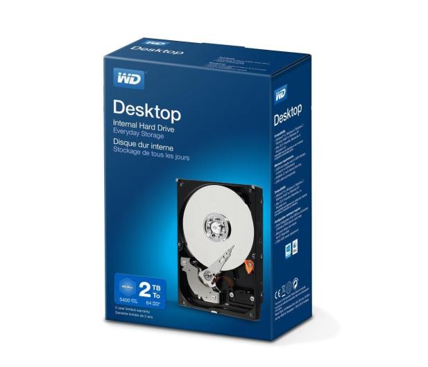 WD 2TB Desktop Mainstream - 216789 - zdjęcie 2