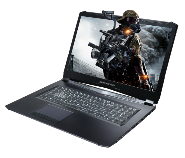 Dream Machines GS1070-17 i7-8750H/8GB/500 GTX1070  - 432614 - zdjęcie 2