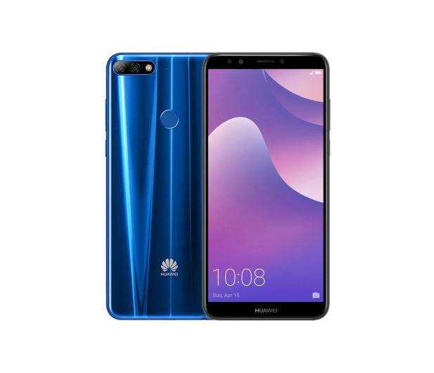 Huawei Y7 Prime 2018 Niebieski - 422031 - zdjęcie