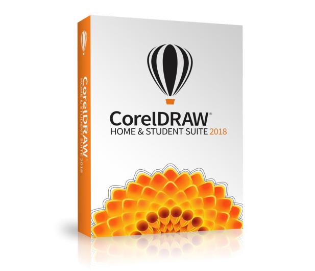 Corel CorelDRAW Graphics Suite Home & Student 2018 PL  - 431929 - zdjęcie