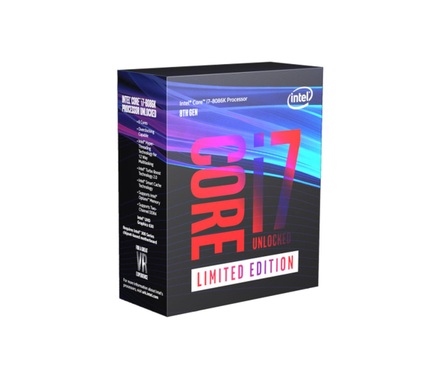 Intel i7-8086K 4.00GHz 12Mb 40th Anniversary Edition - 432745 - zdjęcie
