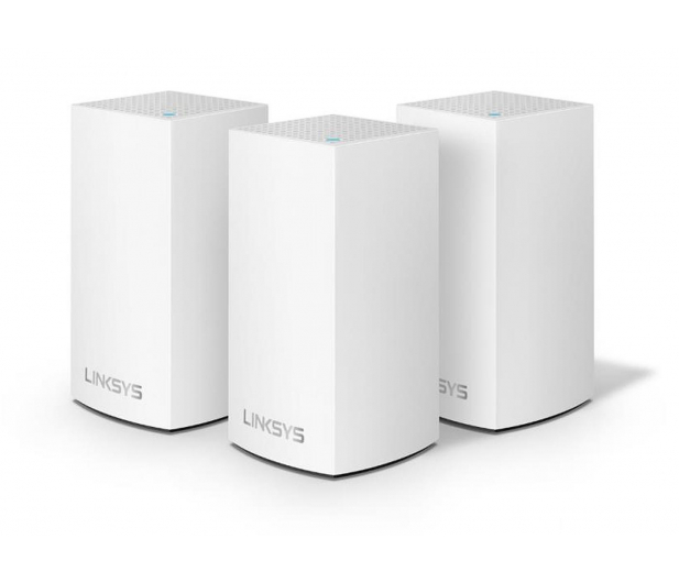 Linksys Velop Mesh WiFi (1300Mb/s a/b/g/n/ac) zestaw 3szt. - 469661 - zdjęcie