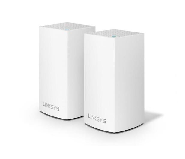 Linksys Velop Mesh WiFi (1200Mb/s a/b/g/n/ac) zestaw 2szt. - 434309 - zdjęcie