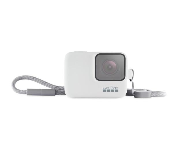 GoPro Etui + Smycz białe  - 434615 - zdjęcie