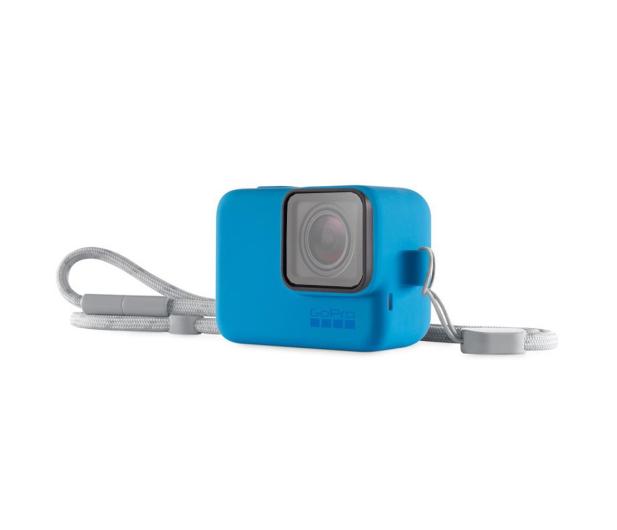 GoPro Etui + Smycz niebieskie - 434616 - zdjęcie 2