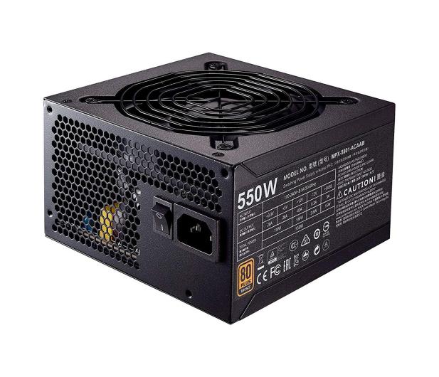 Cooler Master MASTERWATT 550W 80+ BRONZE - 437875 - zdjęcie 4