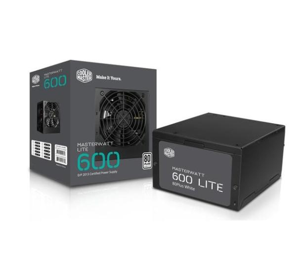 Cooler Master Masterwatt Lite 600W 80 Plus - 437900 - zdjęcie