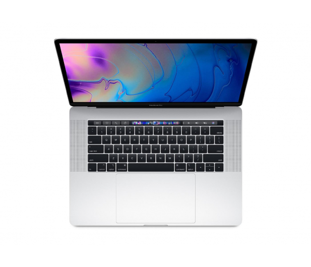 Apple MacBook Pro i7 2,2GHz/16/256/Radeon 555X Silver - 439441 - zdjęcie