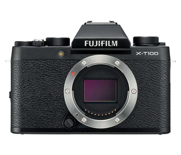 Fujifilm X-T100 czarny body  - 438318 - zdjęcie