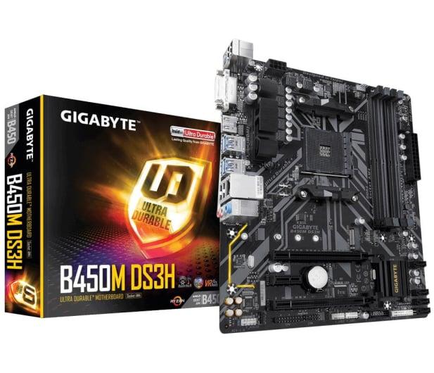 Gigabyte B450M DS3H - 439448 - zdjęcie