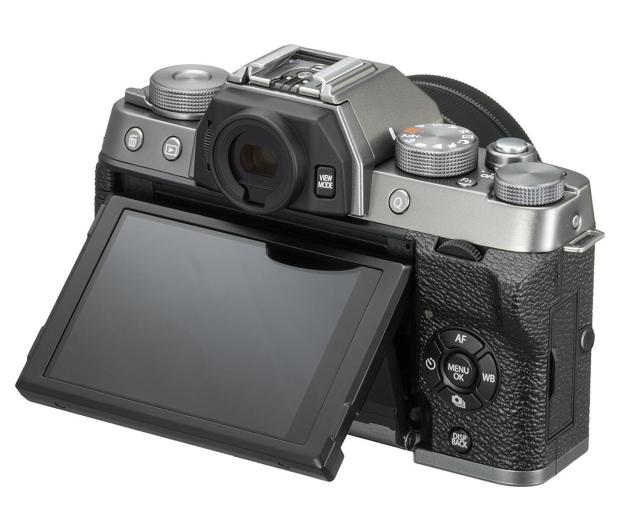 Fujifilm X-T100 srebrny body  - 438320 - zdjęcie 3