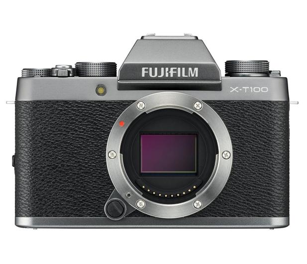 Fujifilm X-T100 srebrny body  - 438320 - zdjęcie