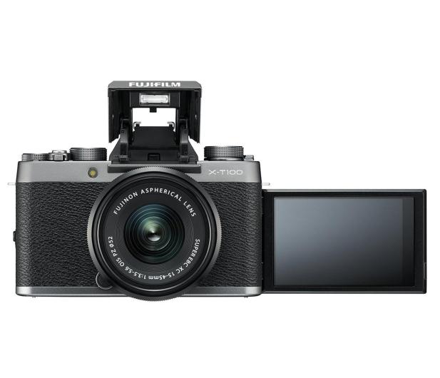 Fujifilm X-T100 + XC 15-45mm f/3.5-5.6 OIS PZ srebrny - 438321 - zdjęcie 7